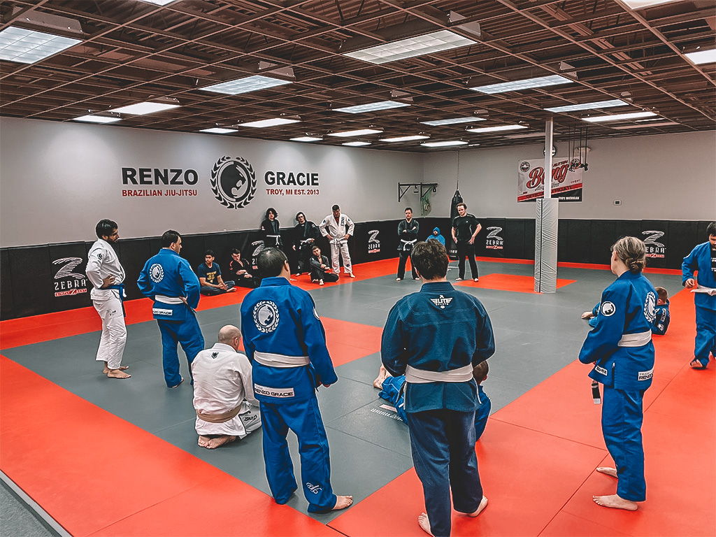 Adult Self Defense Martial Arts Jiu Jitsu Troy MI